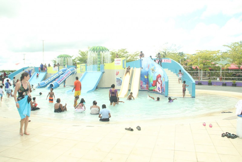 Gift for Life Foundation takes children to Fun Splash, Debe