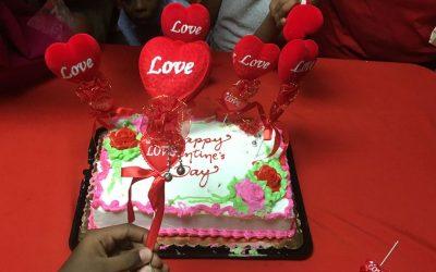 GFLF Celebrates Valentine's Day With Children