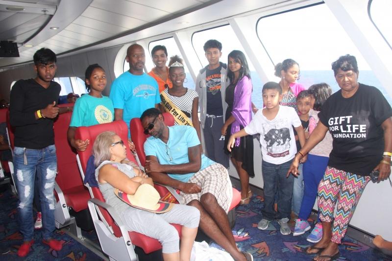 GFLF Takes 10 Children's Homes To Tobago
